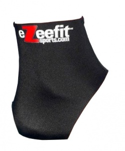 EzeeFit anti-blarensokken Ultrathin junior zwart