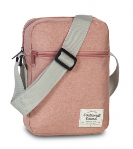 Fabrizio shoulder bag Southwest Boundpink 2 liter
