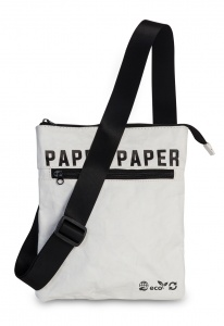 Fabrizio shoulder bag Paper 0.6 litres white