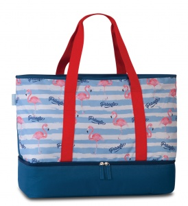 Fabrizio beach bag with refrigerated compartment 43 litres blue