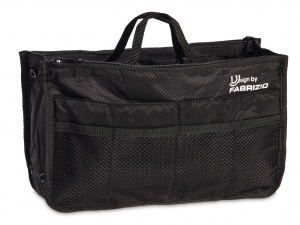 Fabrizio travel organizer black 29 x 17 x 10 cm