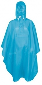 FastRider poncho basic junior blauw