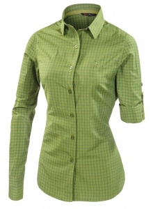 Ferrino blouse Perinet LS dames groen
