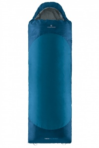 Ferrino sleeping bag Yukon Plus SQ Maxi blue/grey 230x90 cm