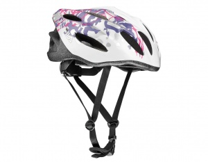 Fila helm WoW dames wit/paars