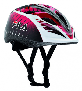 Fila casque de patin à glace junior rouge/noir