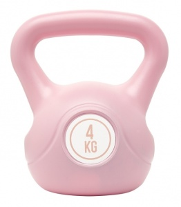 Fit Essentials kettlebell 4 kg roze