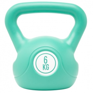 Fit Essentials kettlebell 6 kg turquoise