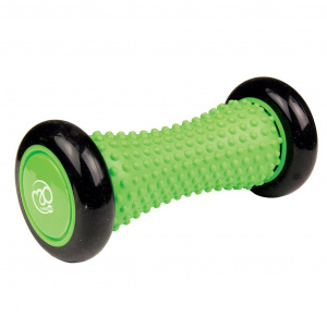 Fitness-Mad foam roller feet 15.8 x 7 cm TPE black/green