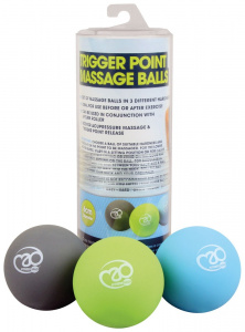 Fitness-Mad massage balls Trigger Point 6 cm PVC 3 pieces
