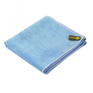 Fitness-Mad sports towel 90 x 40 cm microfibre blue