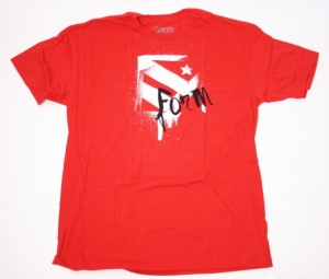 Form Athletics Drying Time T-Shirt Rood