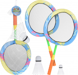 Free and Easy badminton set met zomer print