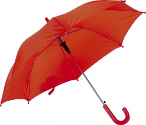 Free and Easy children's umbrella automatically 80 cm red