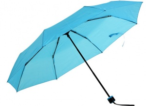 Free and Easy umbrella foldable 52 cm light blue