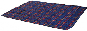 Free and Easy picnic blanket fleece 2-sided 130x160 cm blue
