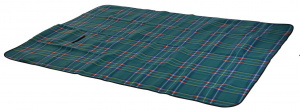 Free and Easy picnic blanket fleece 2-sided 130x160 cm green