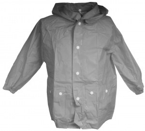 Free and Easy raincoat with hood unisex grey