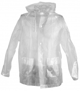 Free and Easy imperméable unisexe transparent taille S