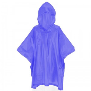 Free and Easy rainponcho junior one size blue