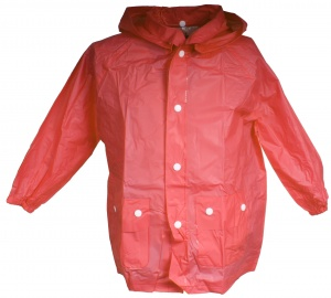 Free and Easy regenponcho junior rood