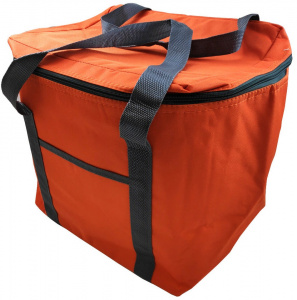 Fresh & Cold cooler bag 24 litres 35 cm polyester orange