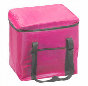 Fresh & Cold cooler bag 24 litres 35 cm polyester pink