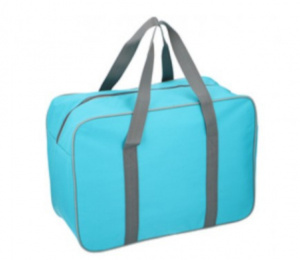 Fresh & Cold cooling bag 24 litres polyester light blue