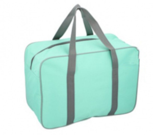 Fresh & Cold cooler bag 24 litres polyester light green
