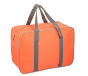 Fresh & Cold cooler bag 24 litres polyester orange