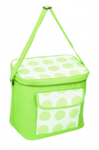 Fresh & Cold cooling bag 30 x 20 cm 18 litres green