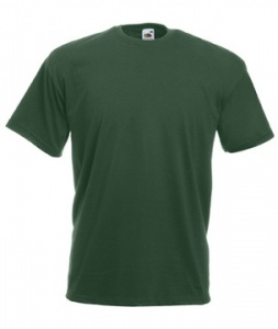 Fruit Of The Loom Classic Valueweight Heren Shirt Groen