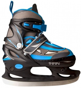 Galgary patin de hockey sur glace semi-softboot junior bleu