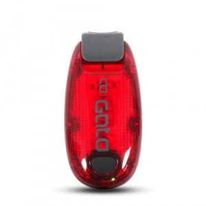 Gato Sports running light led polyester red size one-size
