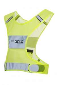 Gato Sports reflective vest Safer Sport X junior yellow
