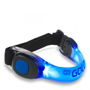 Gato Sports safety bracelet led 23.5 x 2 cm blue