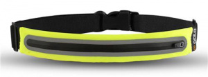 Gato Sports safety belt LED 35 x 25 cm polyester yellow