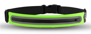 Gato Sports safety belt LED 35 x 25 cm polyester green