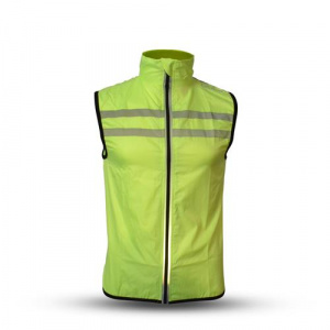 Gato Sports safety windbreaker polyester yellow
