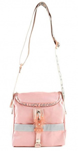 George Gina & Lucy shoulder bag LilCoolgirls 3.5 liters pink