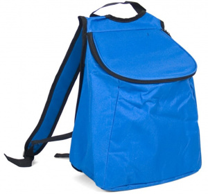 Gerimport cooling bag 34 x 19 x 30 cm 19 litres polyester blue