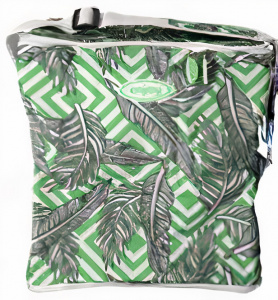 Gerimport coolbag Enjoy 34 x 32 cm 22 litres polyester green