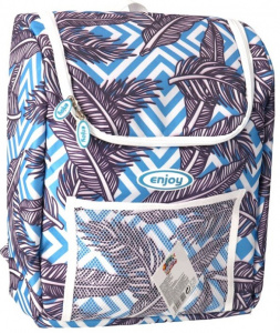 Gerimport coolbag Enjoy 37 x 29 cm 20 litres polyester blue