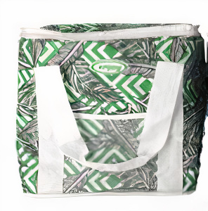 Gerimport coolbag Enjoy 39 x 35 cm 30 litres polyester green