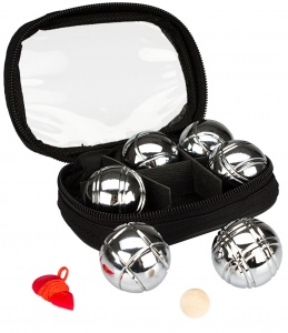 Get & Go Mini Bowls Set 6 Chrome Balls