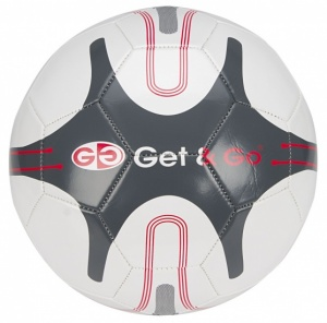 Get & Go Football GNG - 360 White / Anthracite / Red Size 5
