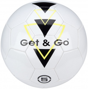 Get & Go Football Triangle Speed PVC leather white