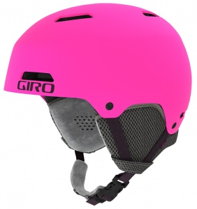 Giro skihelm Crue junior roze