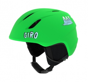 Giro ski helmet Launch junior green