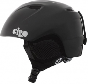 Giro skihelmet slingshot junior black